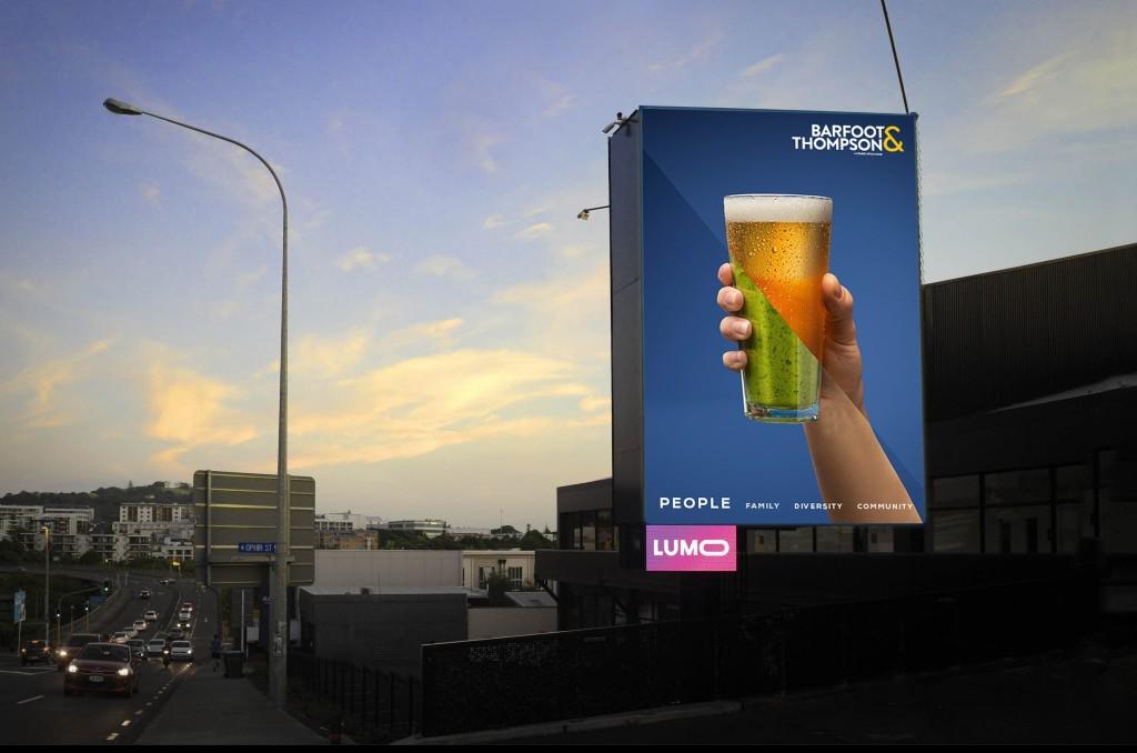 Barfoot & Thompson Digital Billboard